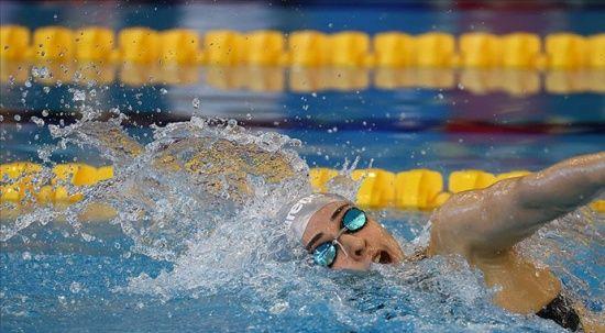 Merve Tuncel Avrupa rekoru kırarak altın madalya kazandı