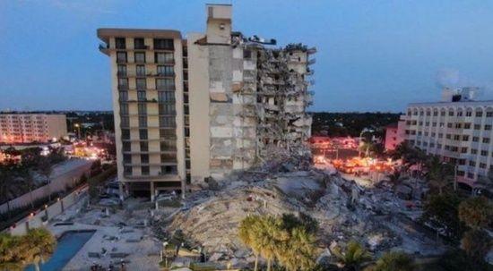 Miami'deki çöken binada ölü sayısı yükseldi