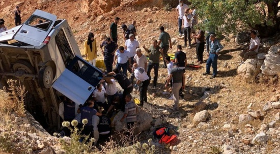 Nemrut ziyareti sonrası feci kaza: Ölüler ve yaralılar var