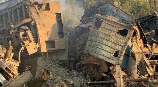 Rusya'da iki yük treni birbirine girdi: 2 ölü
