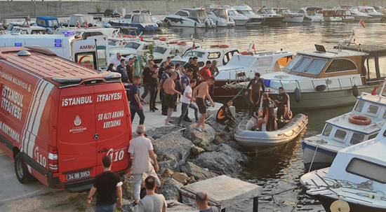 Samatya'da denizde kaybolan gencin cesedi bulundu