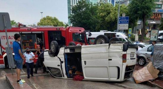 Samsun'da feci kaza: Yaralılar var