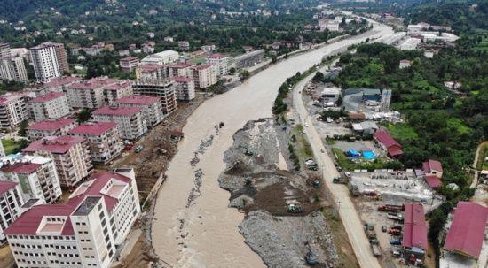 Selden etkilenen yerleşim yerleri afet bölgesi ilan edildi