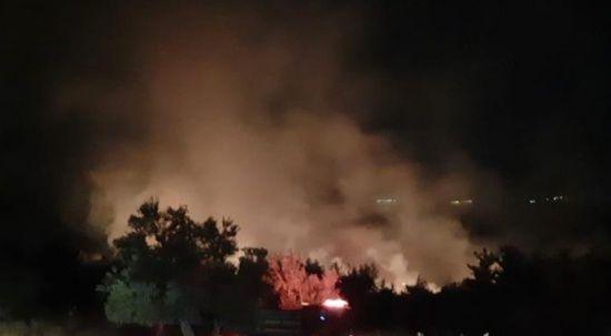 Soma'daki yangın kontrol altına alındı