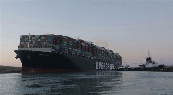 Süveyş Kanalı'nı tıkayan gemi 3,5 ay sonra Mısır'dan ayrılıyor