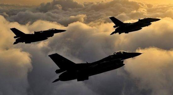 Terör örgütüne hava harekatı: 40'a yakın hedef imha edildi