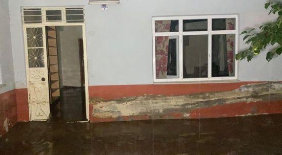 Yağmur Düzce'yi vurdu, evler boşaltılıyor