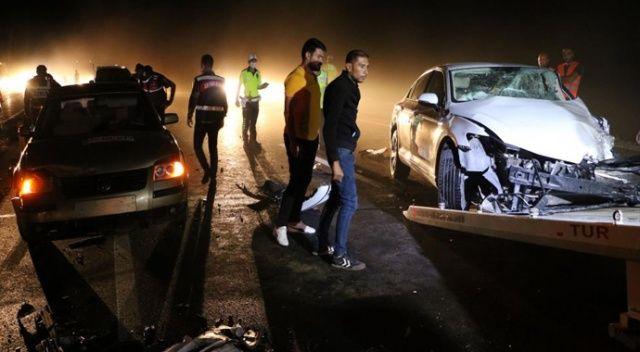 4 aracın karıştığı kazada 7 kişi yaralandı