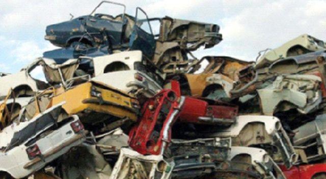 450 bin hurda araç dönüştürüldü