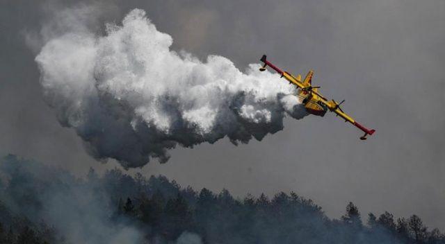 AB'den Türkiye'ye yangın söndürme uçağı