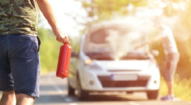 Araçta yangın tüpü sosyal sorumluluk
