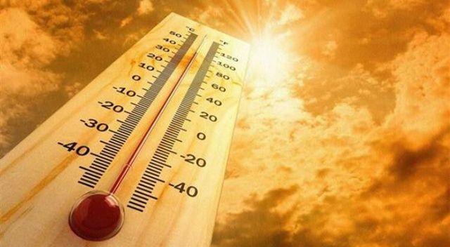 Aydın sıcaklık rekorunu kırdı: 45 dereceye gördü