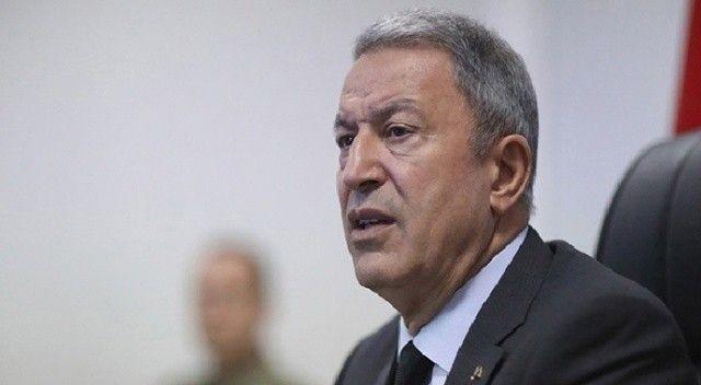 """Bakan Akar'dan """"tahliye"""" açıklaması"""