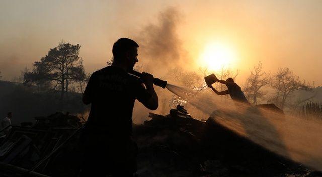 Bakan Pakdemirli: Muğla Kavaklıdere'deki yangın kontrol altında