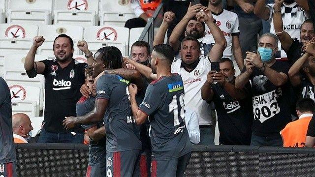 Beşiktaş evinde Fatih Karagümrük'ü 1-0 mağlup etti