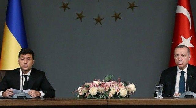Cumhurbaşkanı Erdoğan'dan, Zelenski'ye 'destek' teşekkürü