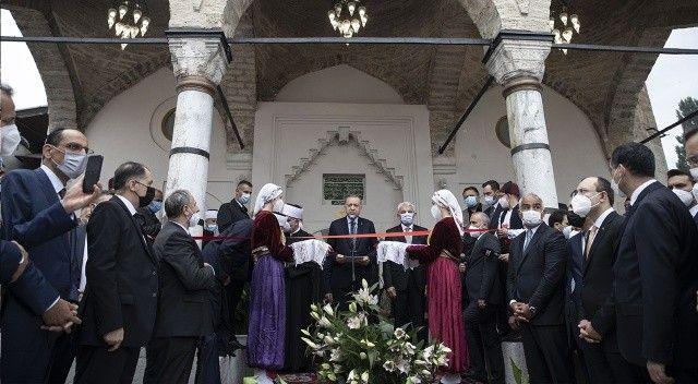 Cumhurbaşkanı Erdoğan Saraybosna'da 500 yıllık camiyi yeniden ibadete açtı