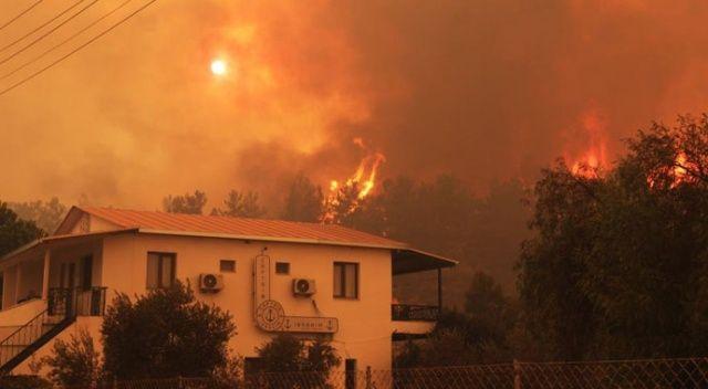 Dizi çekimlerinin uğrak noktası olan mahalle yangınlara teslim oldu