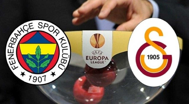 Fenerbahçe ve Galatasaray'ın Avrupa'daki rakipleri belli oldu