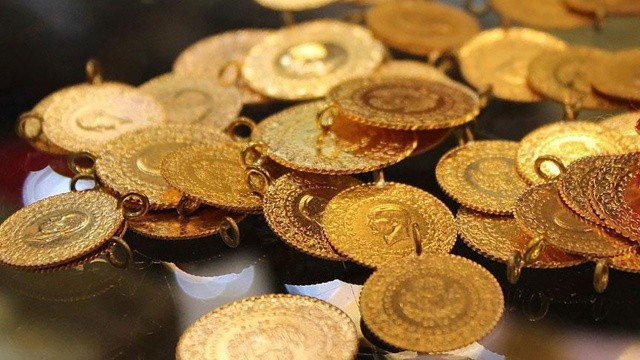 Gram altın 483 lira oldu