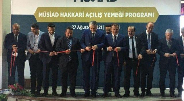 Hakkari'de MÜSİAD şubesi açıldı