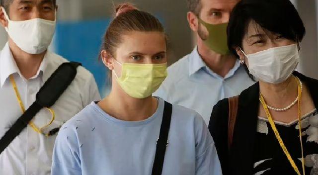 Heptatloncu Yana Maksimova da Belarus'a dönmeyecek