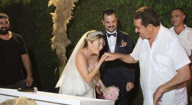 İbrahim Tatlıses kızı ve sevgilisiyle düğüne katıldı