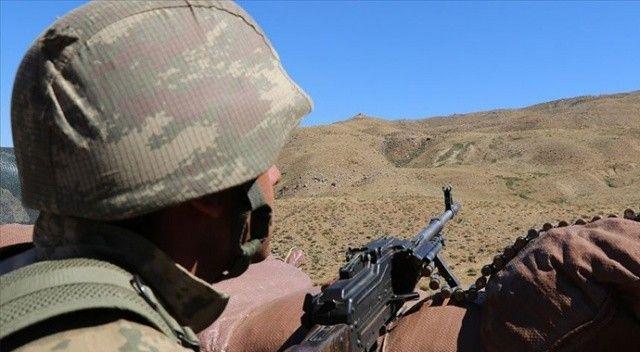 Irak'ın kuzeyinde 7 PKK'lı terörist etkisiz hâle getirildi