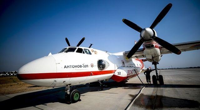 Isparta Havalimanı'ndaki 5 Ukrayna helikopteri müdahaleye hazırlanıyor