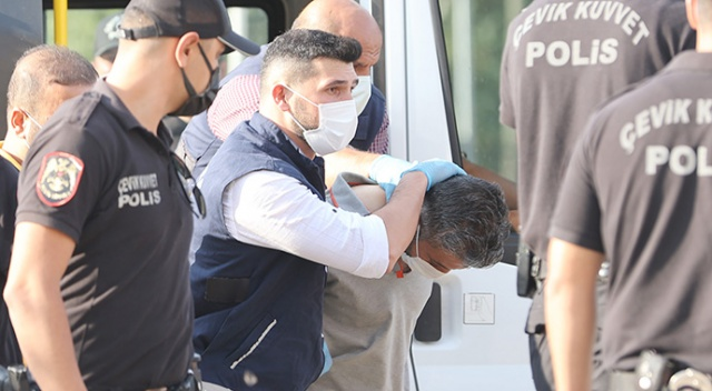 Konya'da 7 kişiyi öldüren zanlı adliyeye sevk edildi