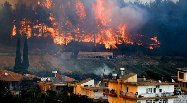 Milasta alevler termik santrale sıçradı, mahalleler boşaltılıyor