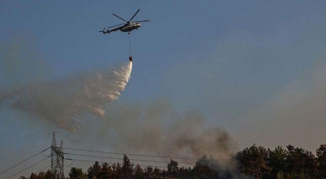 Pakdemirli orman yangınlarındaki son durumu paylaştı