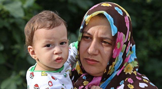 Selde kurtarılan 1 yaşındaki Osman'a Bakan Soylu'dan şefkat eli