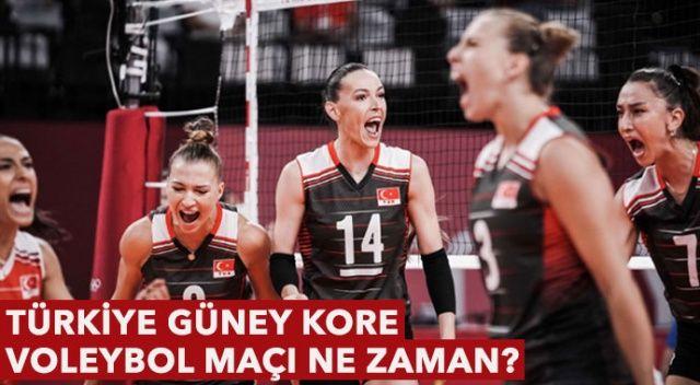 Türkiye Güney Kore Voleybol Maçı Saat Kaçta, Ne Zaman? Çeyrek Final Heyecanı
