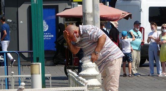 'Eyyam-ı bahur' sıcakları İstanbul'u vurdu! 15 gün sürecek