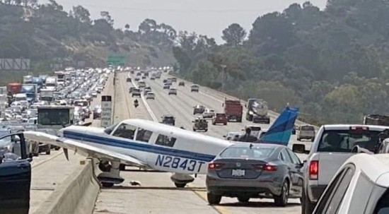 ABD'de uçak kazası! 2 kişi yaralandı