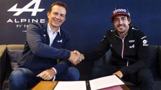 Alonso, gelecek yıl da Alpine'da!