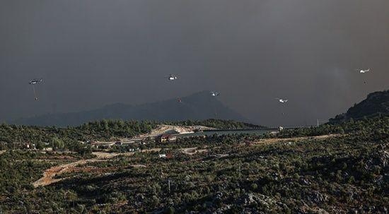 Antalya Gündoğmuş'tan güzel haber! Yangın kontrol altında