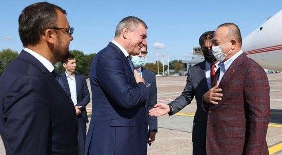 Bakan Çavuşoğlu Ukrayna'da!