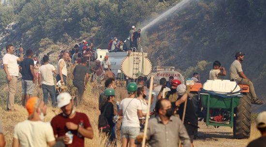 Bakan Pakdemirli duyurdu: Muğla Seydikemer'deki yangınlar kontrol altında