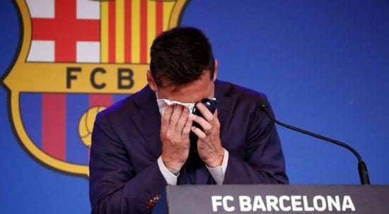 Bir devrin sonu! Messi, Barcelona'ya gözyaşları içinde veda etti