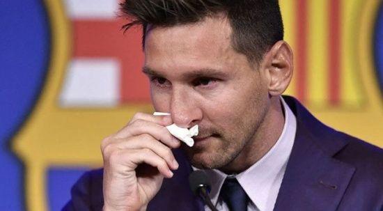 Bu kadarına da pes! Messi'nin gözyaşları satışta