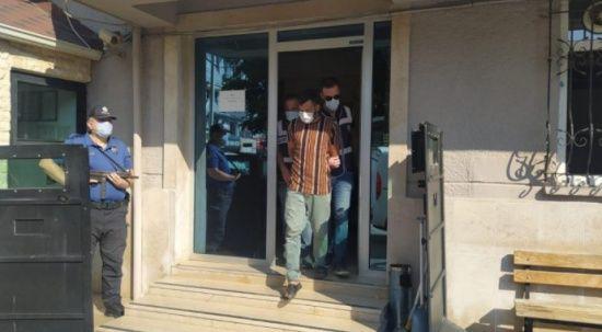 Bursa'da cami çeşmelerini çalan şüpheli tutuklandı