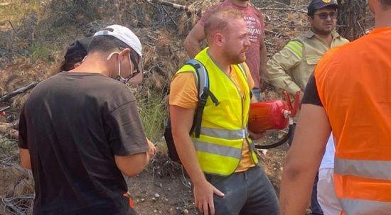 Çocuklar Duymasın'ın 'Havuç'u yangın söndürme çalışmalarında