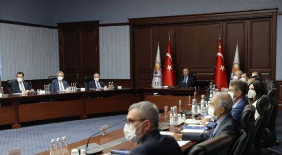 Erdoğan: Hiçbir hesap yapmadan yaraları saralım