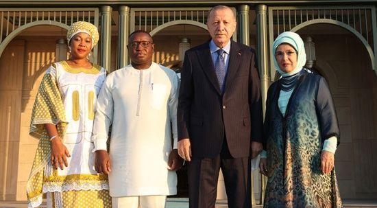 Erdoğan iki ayda 13 Afrika lideriyle görüştü