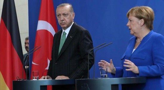 Erdoğan ve Merkel'den telefon diplomasisi