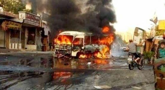 Esed askerlerine bombalı saldırı: 18 ölü, 21 yaralı