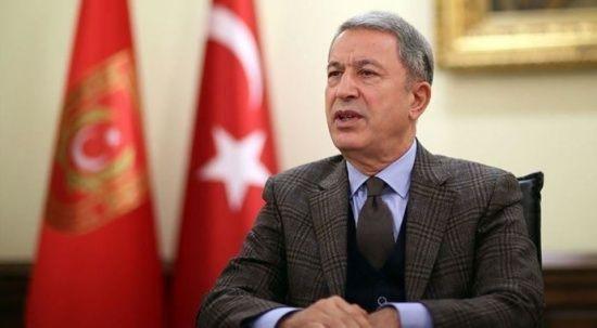 Hulusi Akar, Irak Savunma Bakanı Cuma İnad Sadun ile görüştü