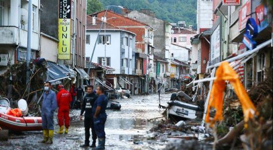 Kastamonu Bozkurt'ta felaketin boyutu gün ağarınca ortaya çıktı